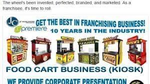Sino ang gusto ng free foodcart?Ask me how..